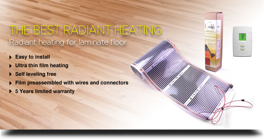 radiant heating system for laminate floor. Black Bedroom Furniture Sets. Home Design Ideas